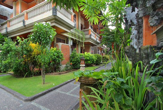 Adi Dharma Cottages: well maintained garden and facilities