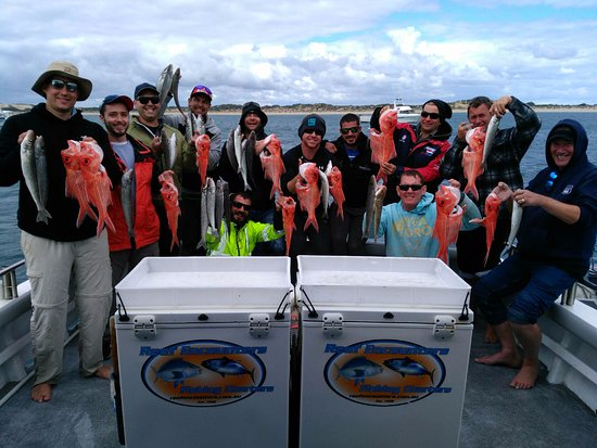 Marion Bay, Australia: Reef Encounters Fishing Charters Group Photo