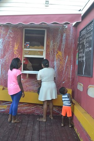 Bodden Town, Grand Cayman: Ice Cream and Smoothie Emporium
