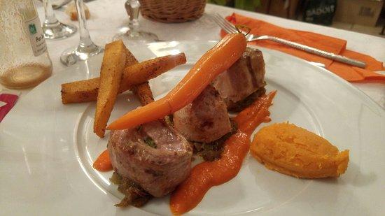 Mollans sur Ouveze, Γαλλία: Impressions d'un repas de soir