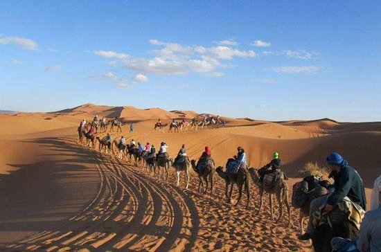 3-day Desert Safari to Merzouga from...