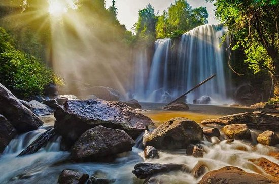 Full-Day Shared Phnom Kulen National Park Tour from Siem Reap