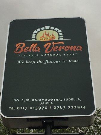 Bella Verona signposted