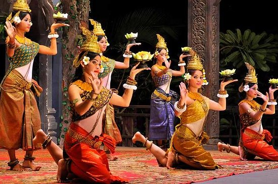 Amazing Apsara Dance Show with Buffet Dinner & Hotel Transfers