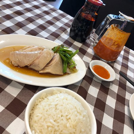 Seriously, the best hainanese chicken rice!