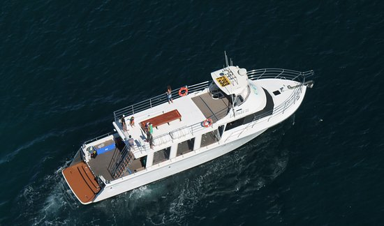 Exmouth, Australia: Latitude 22, the most immaculate vessel on the Ningaloo Reef