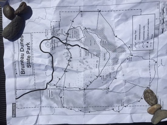 Bruneau, Idaho: Park map