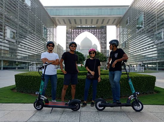 Planet Scooters Malaysia Electric Scooter Rental Tour Putrajaya