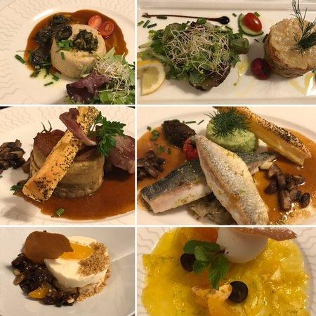 Bois Colombes, France: 2 repas gourmands Mer &Terre : escargots, dorade, agneau, ananas, dessert glacé, un régal