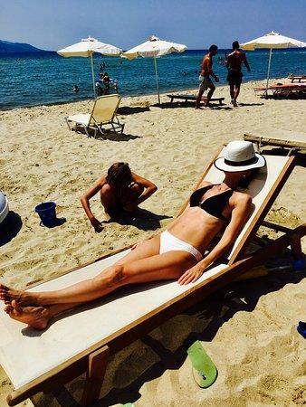 Keramoti, Grèce : Beach bar Paralia