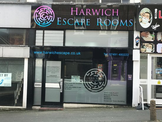 Harwich, UK: Shop Front