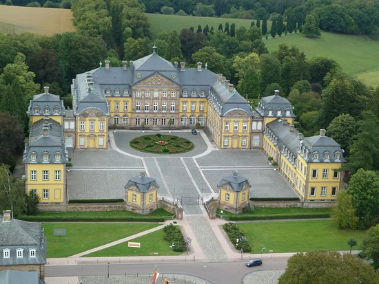 Bad Arolsen, Germany: Luftbild // aerial image