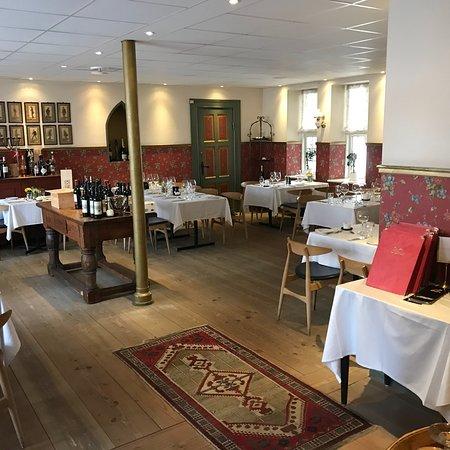 Hoejslev, Denmark: Super hyggelig restaurant, men fantastisk mad