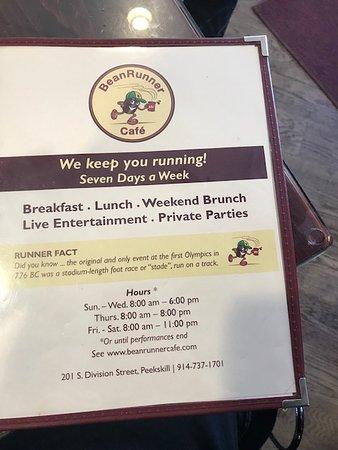 Bean Runner Cafe Peekskill New York