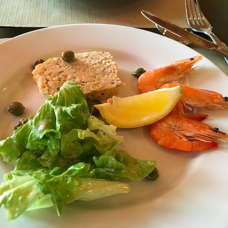 Montpezat d'Agenais, Frankrike: Un repas très délicieux. Merci.