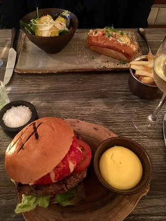 Blackrock, Ireland: Loster roll & Lobster burger