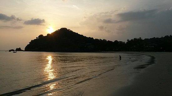 sunset at kantiang bay