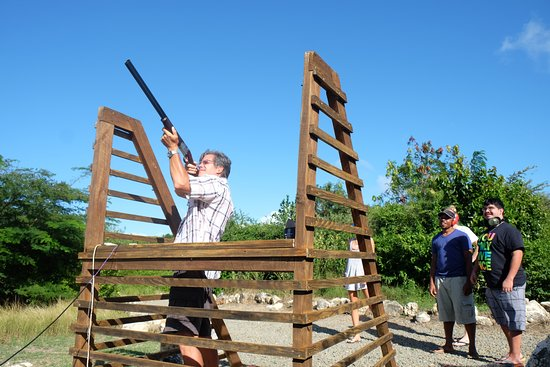 St. John's, Antigua: Clay Shooting