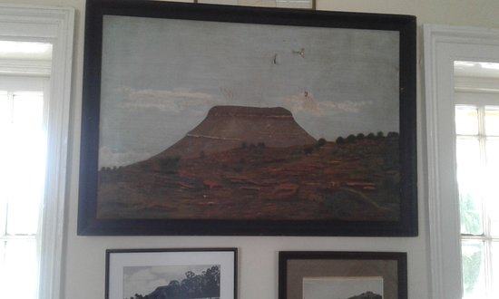 Colesberg, South Africa: Some of the art on display