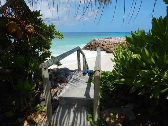 Anse Kerlan Beach: пляж Anse Kerlan