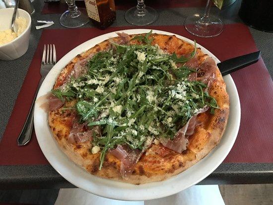Les Jardins D'italie: Pizza Romana de la pizzeria Il Giardino d'Italia/Les Jardins d'Italie à Châteauroux