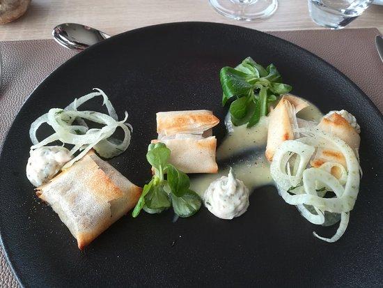 La Table des Bauges: Excellent repas ! Je vous conseille ce restaurant avec une cuisine faite à partir de produits ré