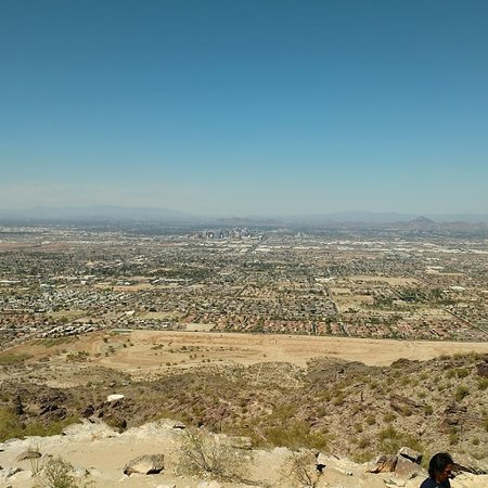 South Mountain Park: View from rest stop on South Mountain