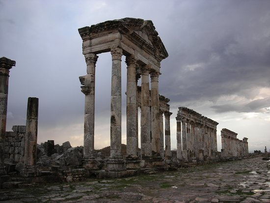 Cartoline da Apamea, Siria