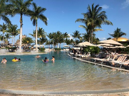The Beach Lounge Picture Of Villa Del Palmar Cancun Resort