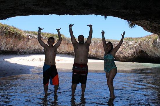 Pegaso Chartering: The Hidden Beach (Playa de Amor)