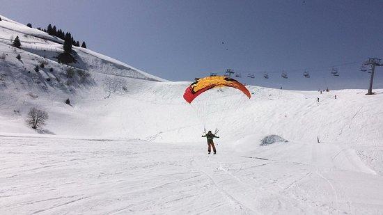 Morzine-Avoriaz, França: Run «grand vol» génial !!!!