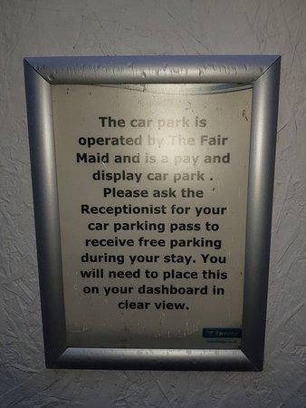 Bit tired, car park a nightmare