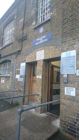 Prison main entrance