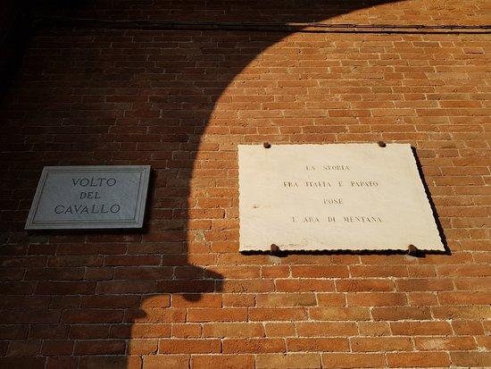 Ferrara, Italie : Volto del cavallo