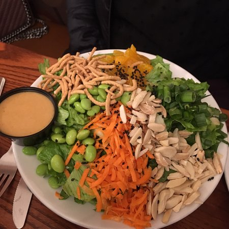 Ballston Spa, NY: Asian salad less chicken, great flavors!!!!