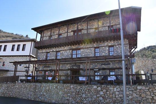Macedonian Village: casa