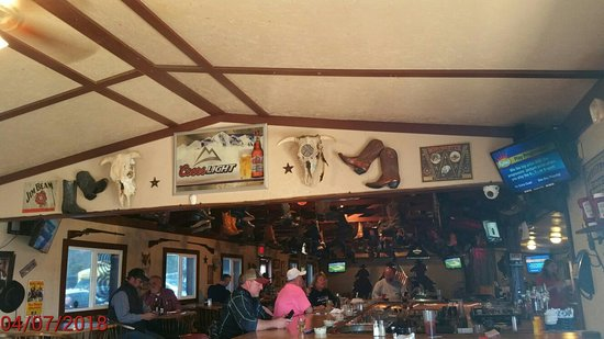 Sunrise Beach, MO: Branding Iron Restaurant and Saloon
