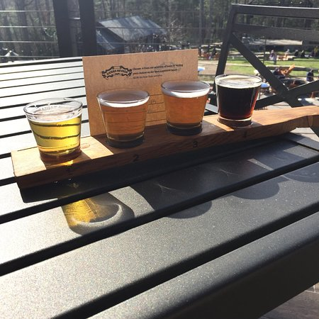 Enormous Brewery Grounds