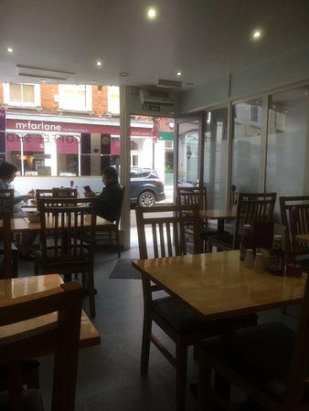 The Pantry Coffee Shop: Tables And Chairs Facing Wood Street