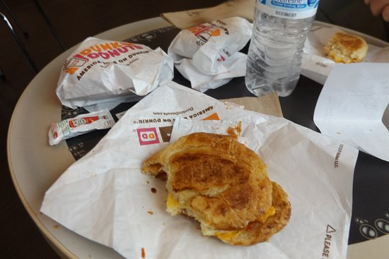 Pontiac, IL: Egg, bacon and cheese croissants ( 2 for $5.)
