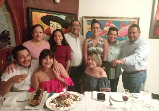 Ristorante Tonelli: Celebré mi cumpleaños No 25, cada visita me encanta más.