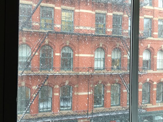 The Mercer Hotel: Perfect NYC location to enjoy a snowstorm
