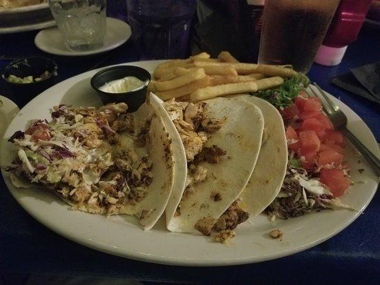 Kingfish Grill: Fish tacos!