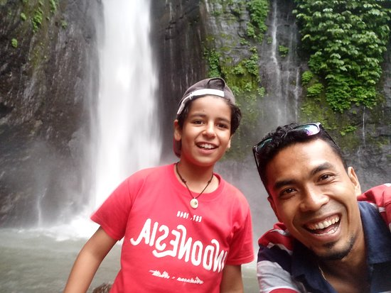 Astroboy Loka Paksa Taxi : My trip today munduk waterfall thank jan and David