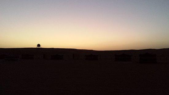 Ghuwayfat al Habb, Oman: sunset