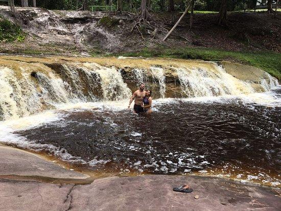 Cachoeira Berro dÁgua - ideal para banho de cachoeira tranquilo