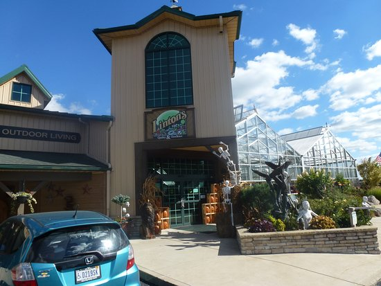 Front Entrance To Linton's - From Parking Lot