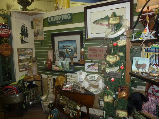 Anglers Theme Display Area In Store