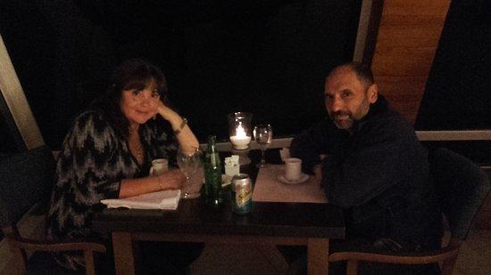 Sol Arrayan Hotel & Spa: Cena en el comedor del hotel