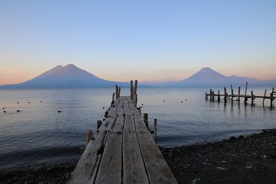 Sunrise on Lake Atitlan